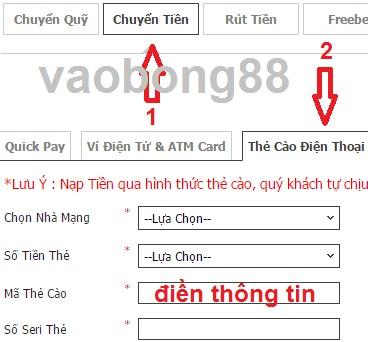 gui tien w88 the cao