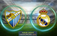 Soi kèo Malaga vs Real Madrid lúc 01h45 ngày 16/04 vòng 32 La Liga