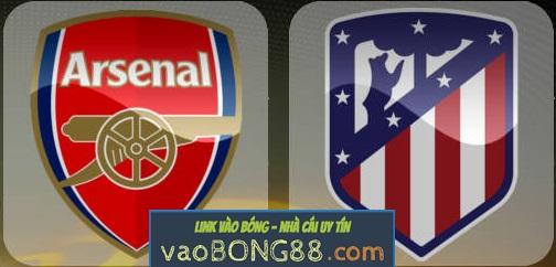 Tỷ lệ cược Arsenal - Atletico Madrid