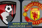 Tỷ lệ cược Bournemouth vs Man Utd (2:45 - 19/04/2018) theo bong88