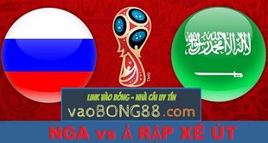Nhận định World Cup 2018 Nga vs Ả Rập Xê Út (14-06)