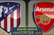 Tỷ lệ cược Atletico Madrid - Arsenal (02:05 - 04-05-2018) theo 1gom