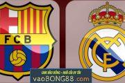 Tỷ lệ cược Barcelona - Real Madrid (01:45 - 07-05-2018) theo 1gom
