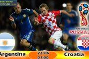 Tỷ lệ cá cược Argentina vs Croatia (22-06) Nhận định World Cup 2018
