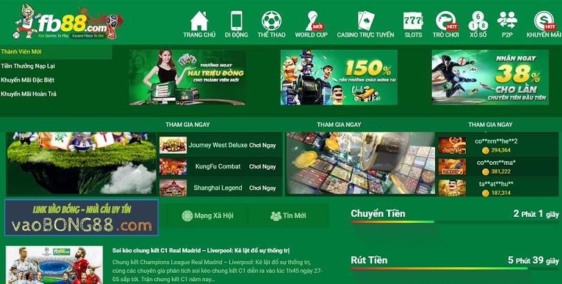 FB88 - Link vào FB88 - Nhà cái FB88 uy tín Việt Nam