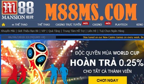 M88ms - Link vào M88ms
