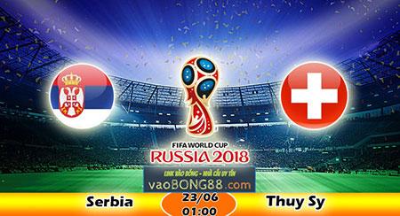 Nhận định Serbia vs Thụy Sỹ (23-06)