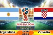 Trực tiếp bóng đá Argentina vs Croatia (01:00 – 22-06)