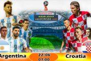 Kèo hiệp 1 – Kèo tài xỉu Argentina vs Croatia (22-06)