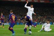 Sao Real tức tối vì không ghi bàn vào lưới Barca